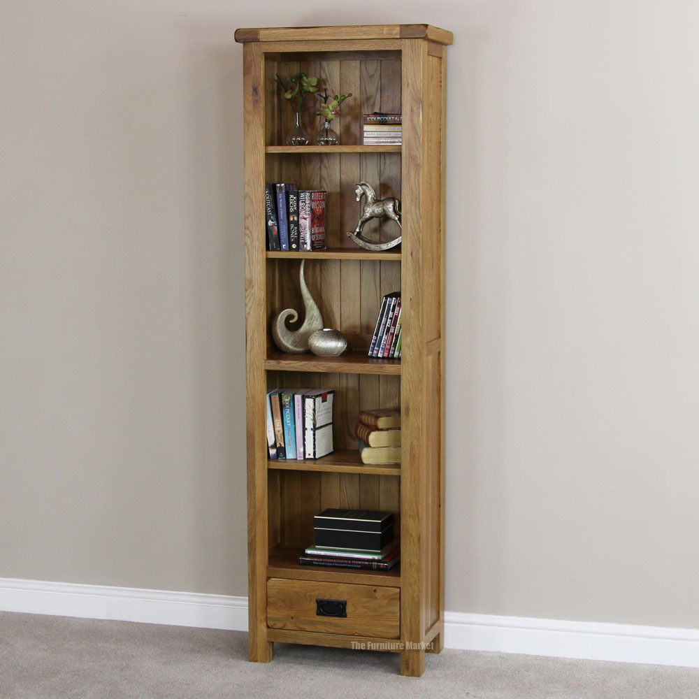 bookcases drawers - tall narrow bookcase solid wood roselawnlutheran OLVYCAR