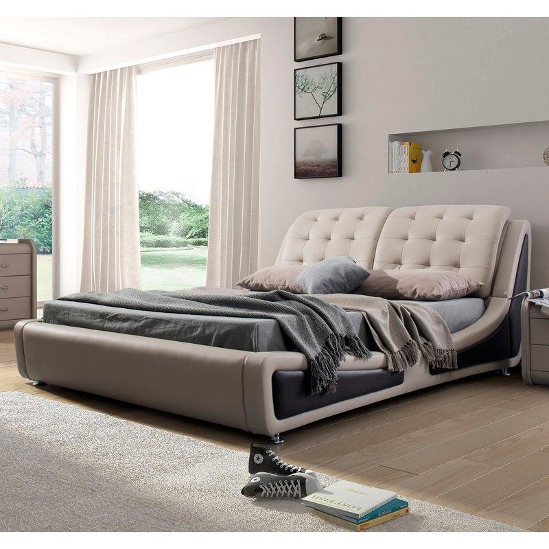 bosworth upholstered platform bed XPQLQNA