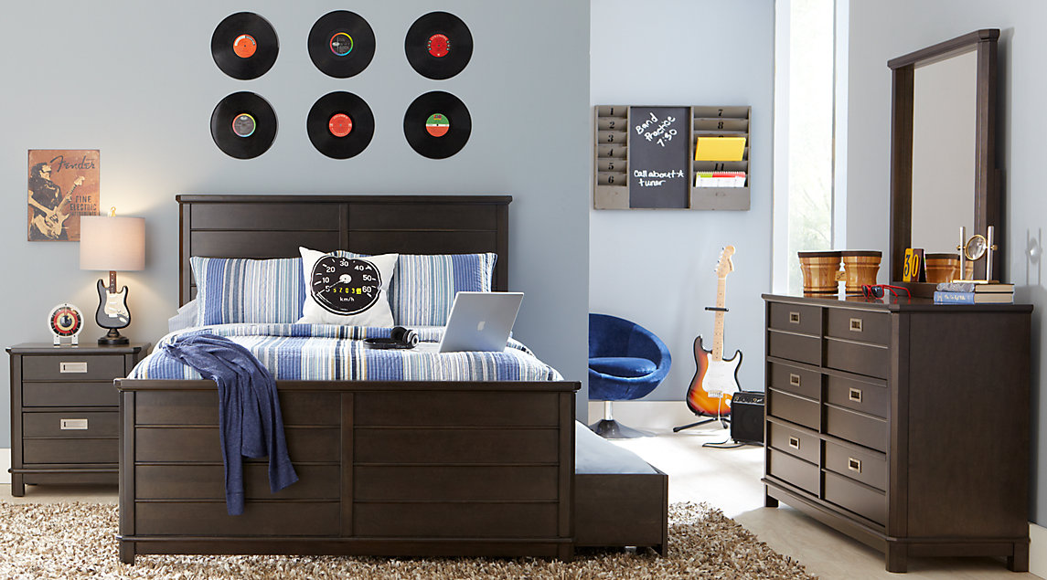 Young teenagers bedroom furniture modern QISDSAE