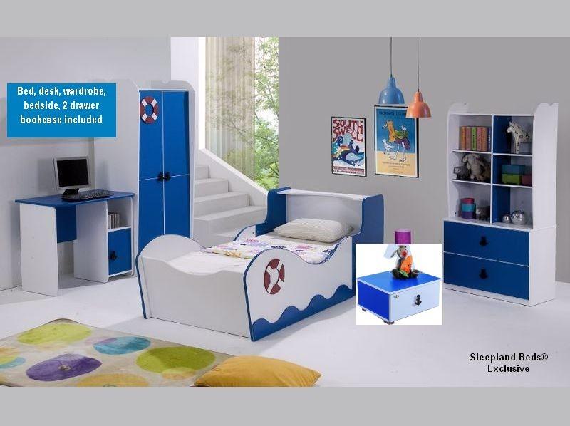 Boys bedroom furniture sets attractive for children with 4 ... WWJBATV