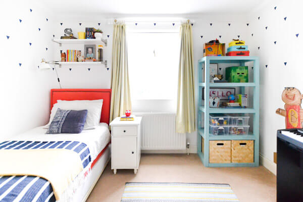 Boy's bedroom If you are going to use white as a base then there are ways to add AEFZUAX