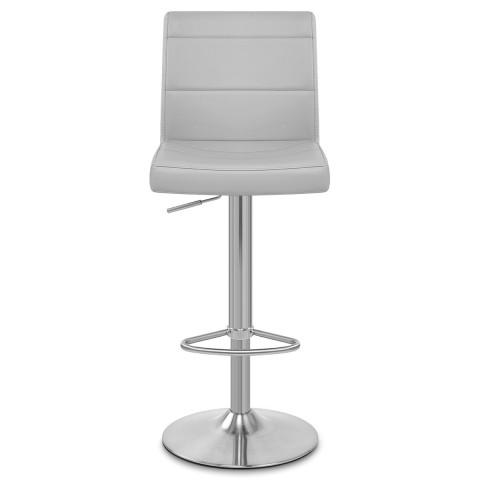 Breakfast bar stool Breakfast bar stool made of brushed steel gray ... OLKVVTK