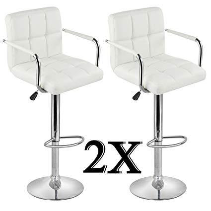 breakfast stool topeakmart 2-part adjustable bar stool breakfast bar stool with back and arms JXYVGZN