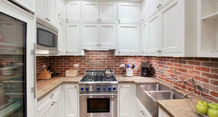21 best photo of backsplash ideas for brick kitchens - Gabe & Jenny Hom