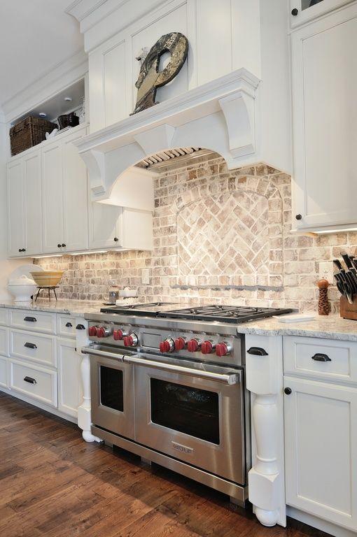 Brick Kitchen Backsplash Ideas