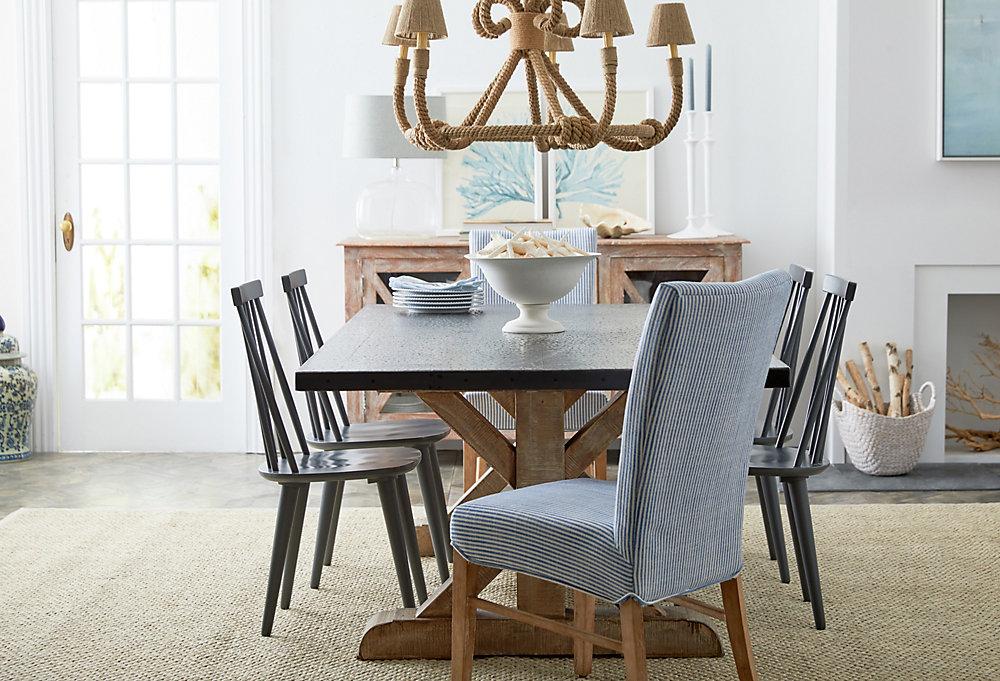 bring the beach.  a sea-inspired dining room EWDFFPO
