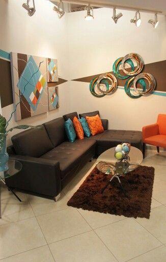 Brown Living Room Decor Ideas - SalePrice: $ 29 |  Living room.