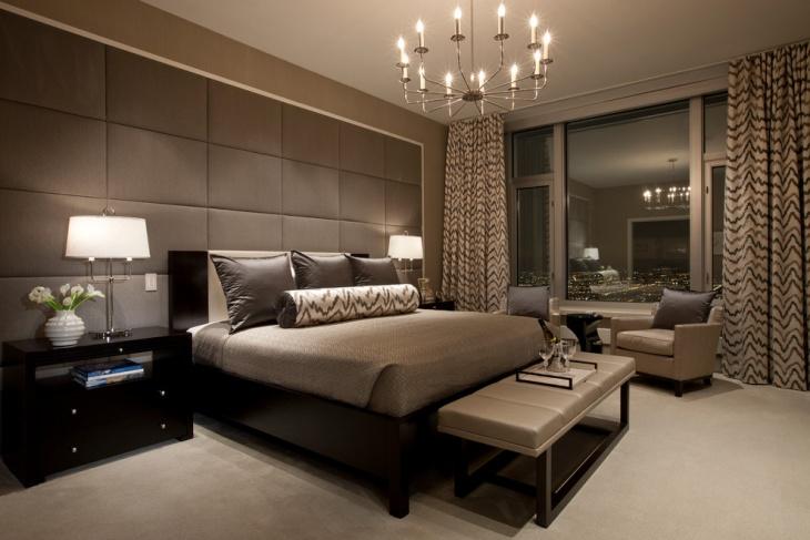20 gorgeous brown bedroom idea