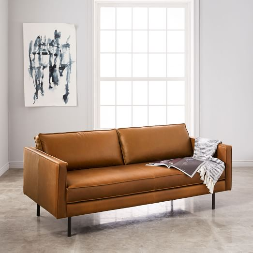 brown leather sofas Axel leather sofa (76 UMMLJFV