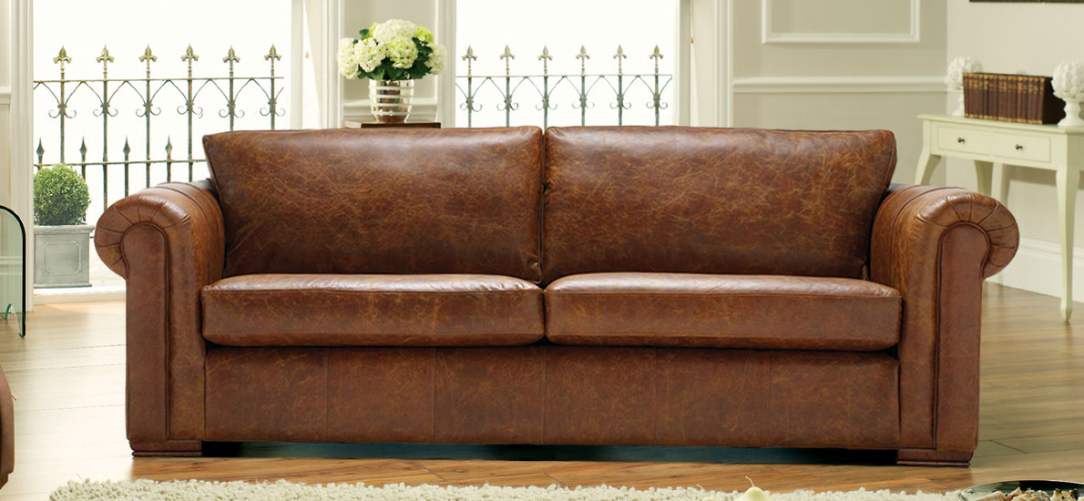 brown leather sofas brown leather sofa 2-seater RNGZKZT