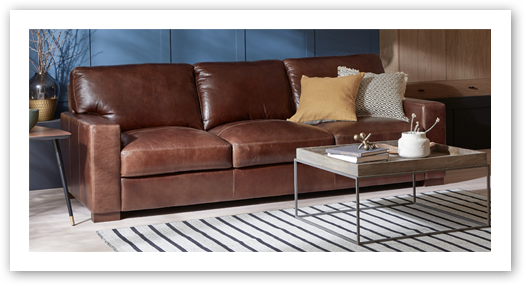 brown leather sofas brown leather sofa corner wickertrunk in brown leather sofa IMVJZEV