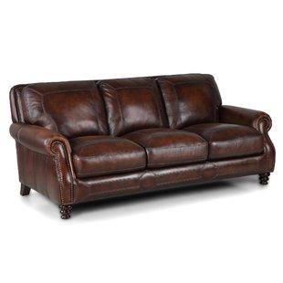 brown leather sofas Goldhorn leather sofa IZVXNXB