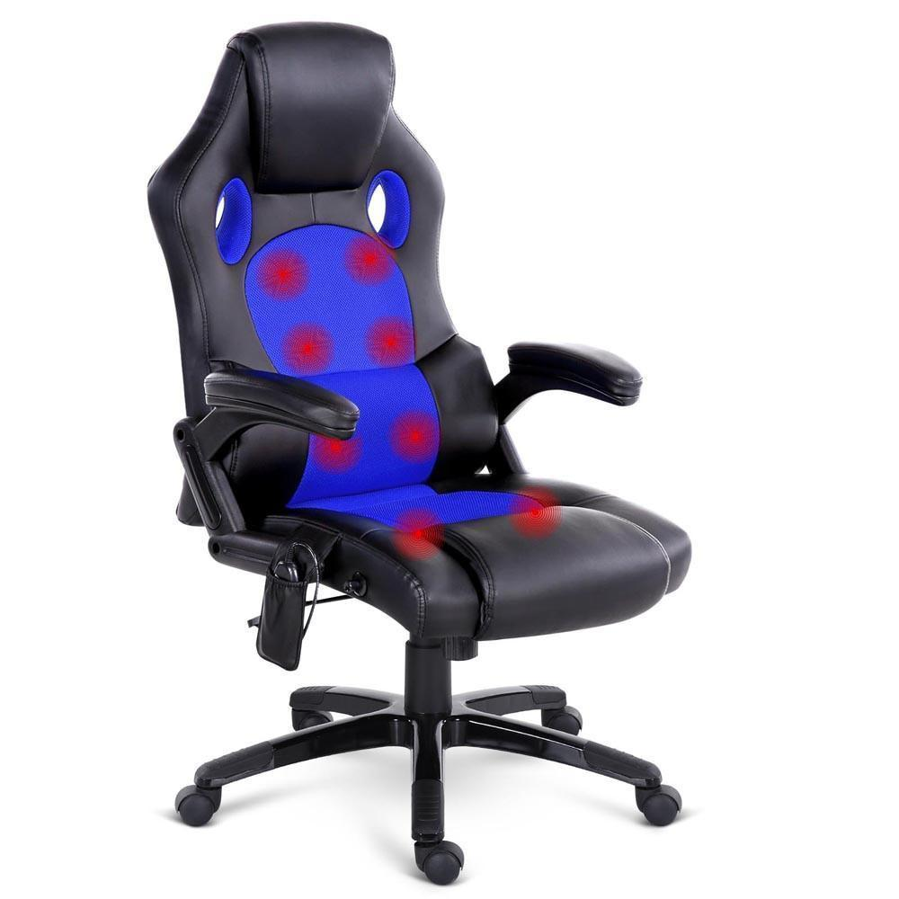 bryce office computer chair black / blue HYXFHCX