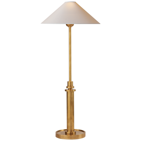 Buffet lamps hargett buffet lamp made of hand-rubbed antique brass with a natural paper shade HNJAOEL