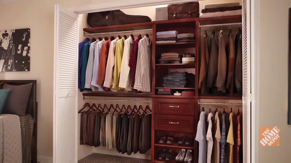 Build Your Own Closet Organizer - Storage - Videos and VYFETMI