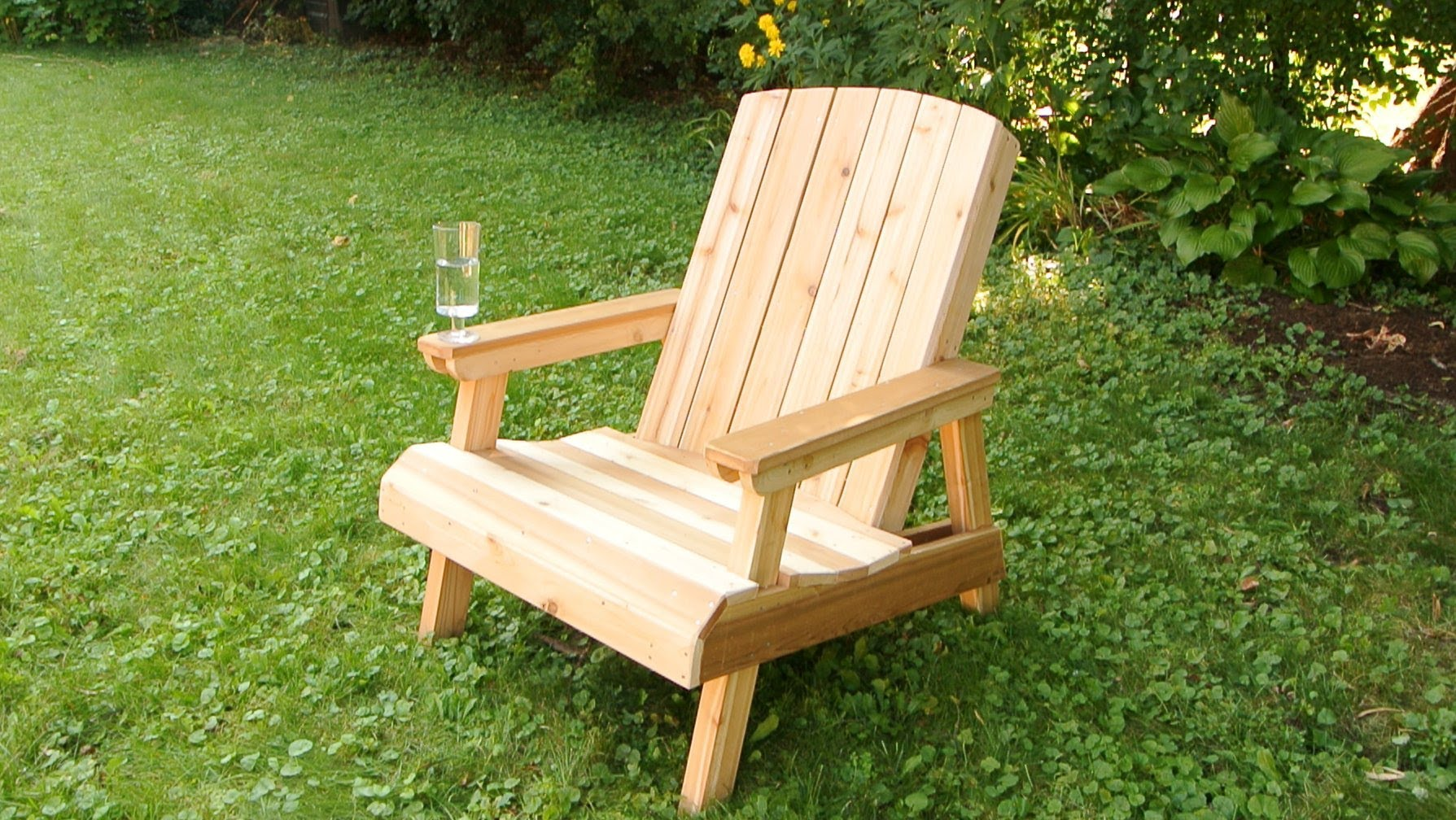Building a garden chair (old adaptation) - youtube CNEGRAX