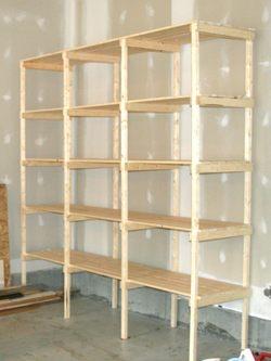 Build storage racks BYDGEBT