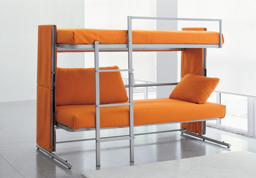 Bunk Bed Couch Bonbon Trading, Bonbon, Doc, Transfroming Sofa, Sofa, Green Furniture, Sustainable NCIFRUN