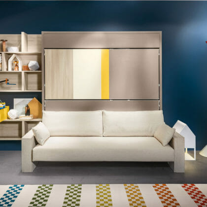 Couch with bunk beds Sofa with bunk beds XVWCESC