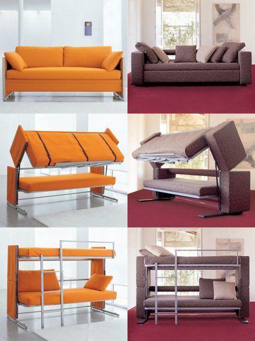 Bunk Bed Couch Sofa Bunk Bed (£ 3,000) - 10 fancy convertible beds MWXXXEU