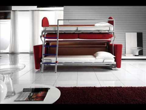 Bunk bed couch sofa bunk bed    Sofa bunk bed convertible ZBZWUGR