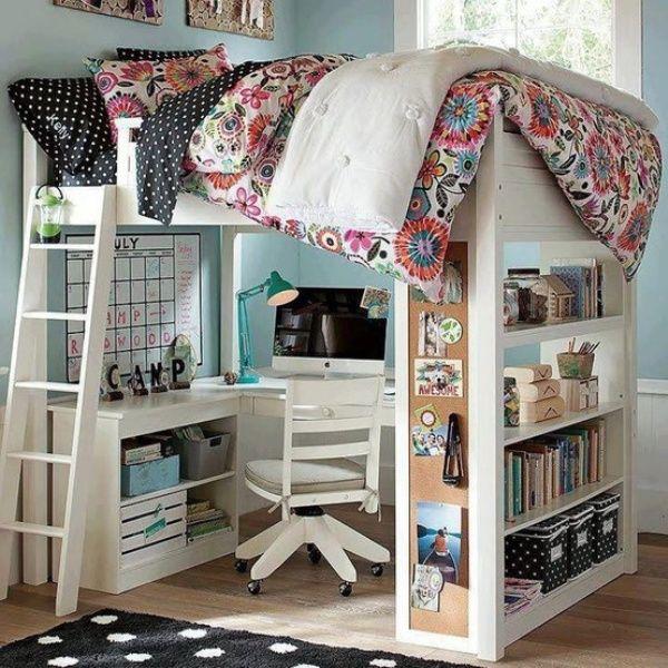 Bunk Beds with Desks 20 Loft Beds with Desks to Save Kidu0027's Space |  Children's mania WNEDRUH