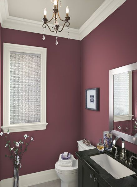Color ideas & inspiration for bathroom colors |  Benjamin Moore.