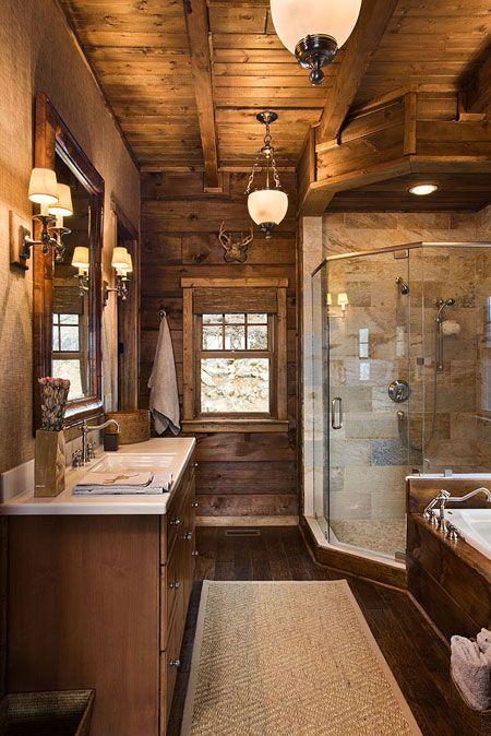 North Carolina Log Homes - the perfect blend of log cabin and modernity.