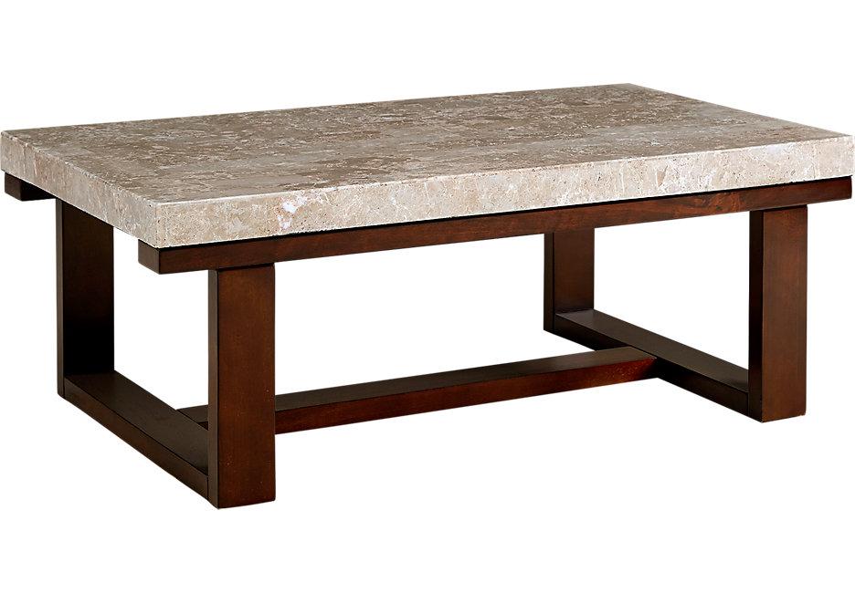 caleb espresso cocktail table - dark wood cocktail tables CQRXMSI