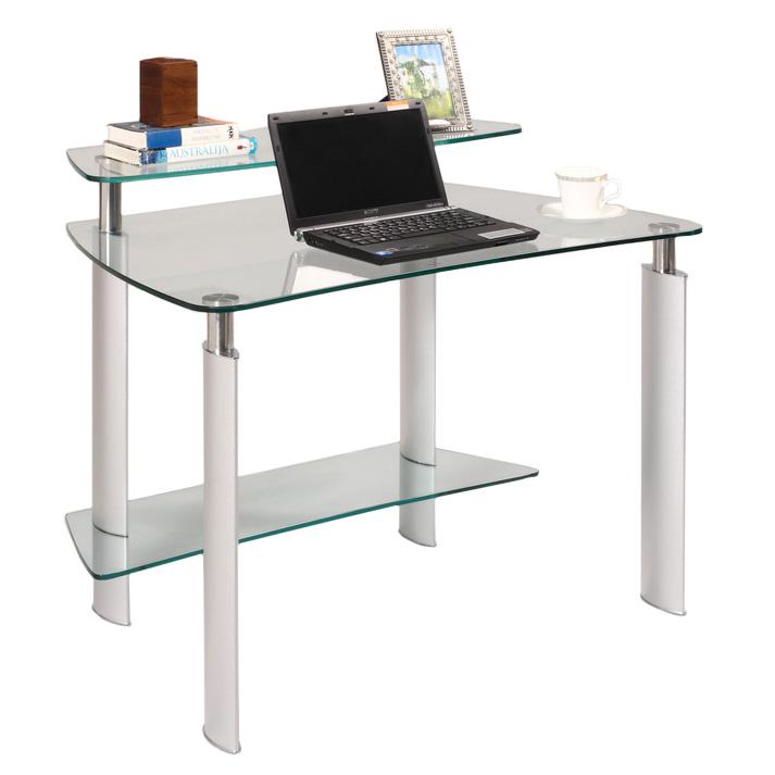Call to order · Mason modern computer desk made of glass RTVAHQJ