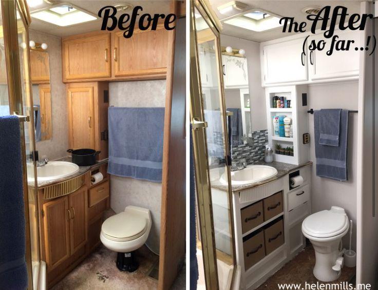 Camper Bathroom Ideas