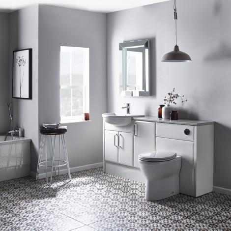 capella white bathroom furniture    Roper Rhodes QDJJEFY