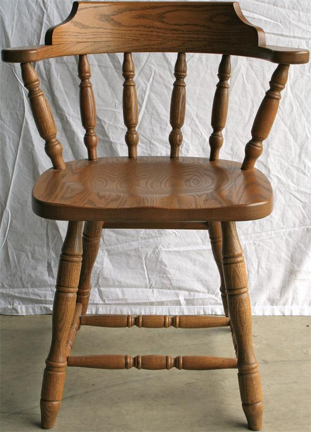 Captain's chair Amish solid wood restaurant Captainu0027s chair GPNEYWQ