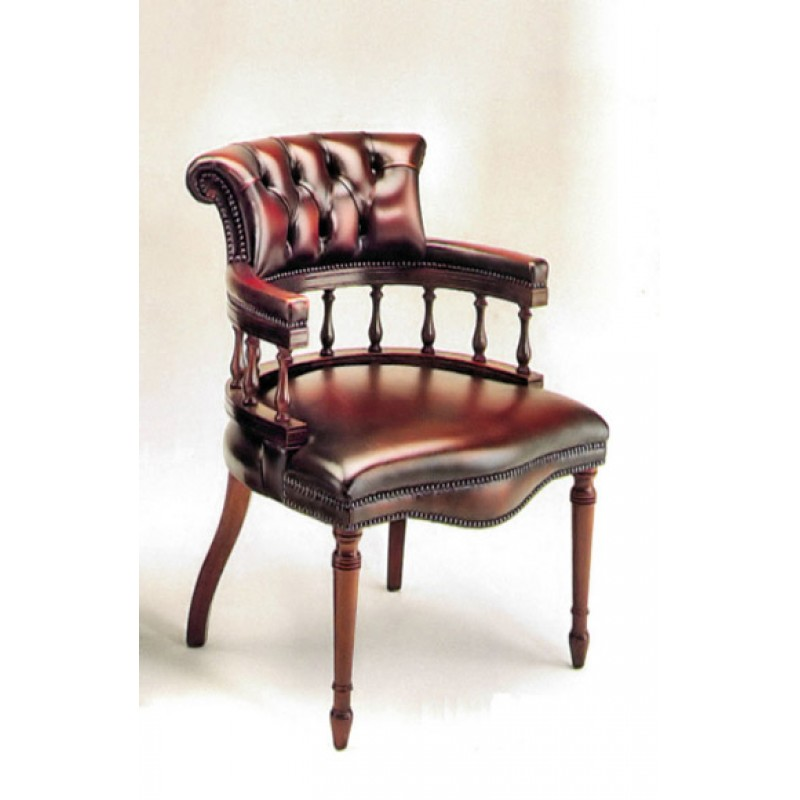 Captain's chair Study chairs made of the finest leather NAVDZNS