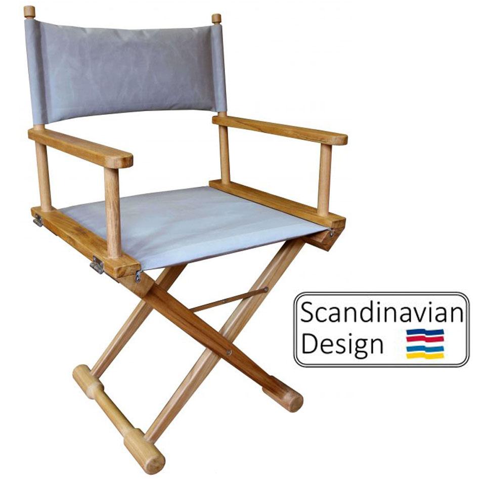 Captain's chair teak ... XAYGWPV