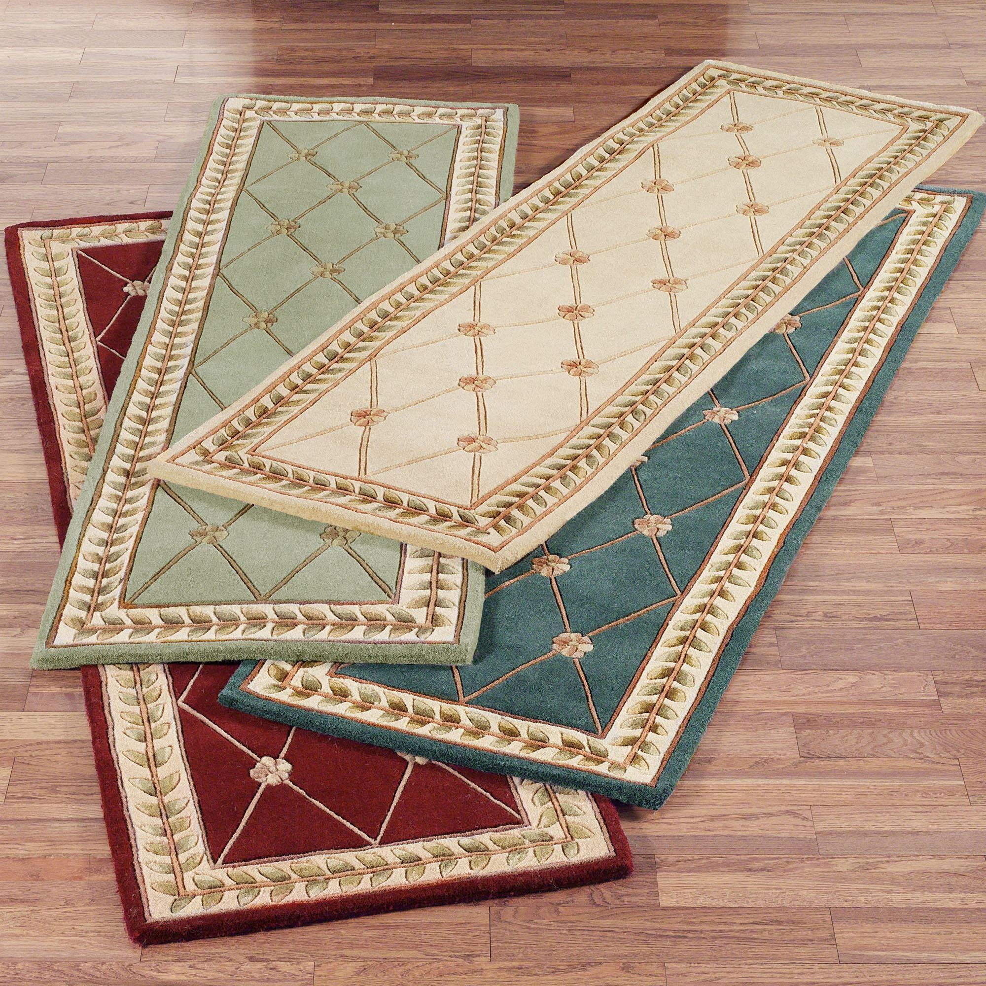 Carpet runner flower grid carpet runner TLYYIAQ