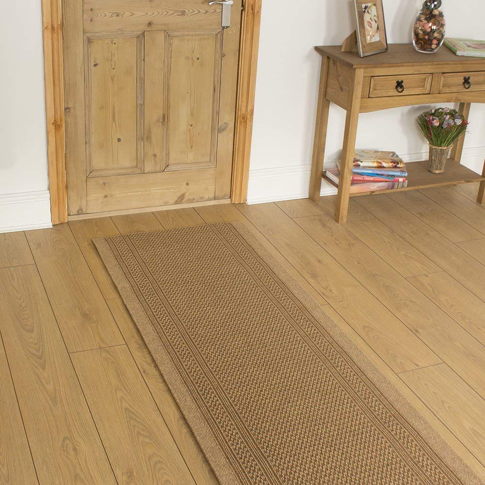 Made to measure carpet runner Carpet runner - Aztec Beige - Long Hall & NRGLMEE