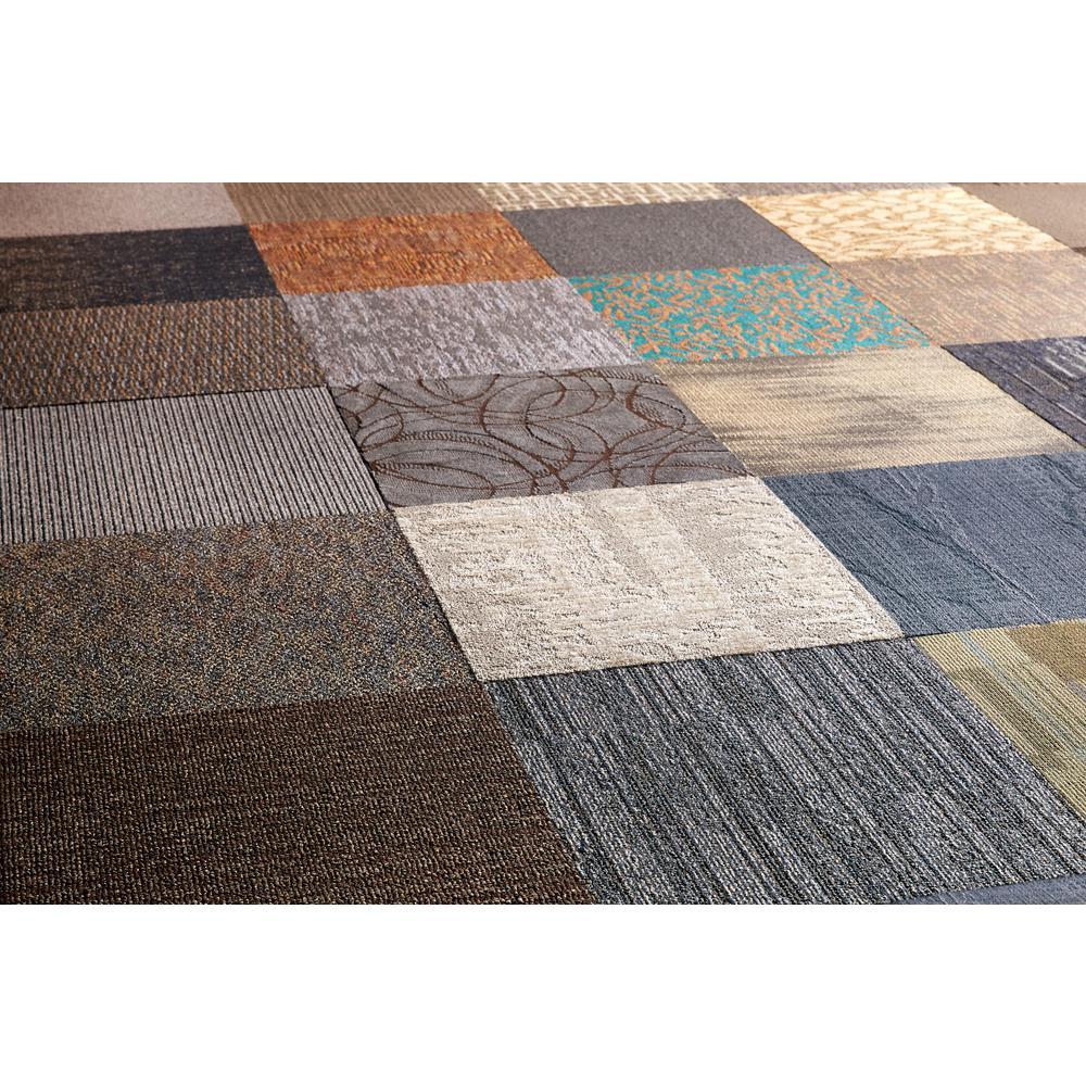 Carpet Tiles Versatile Assorted Commercial Pattern 24