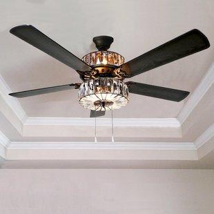 Ceiling fans with light 52 ZBMFXVZ