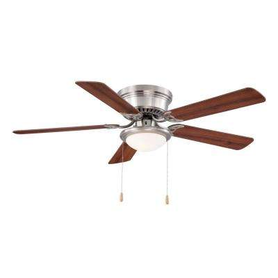 Ceiling fans with lighting LED ceiling fan made of brushed nickel for indoor use with lighting set ... PRUWAND