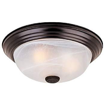 Ceiling lights 1257l-orb-al flush ceiling light oil rubbed bronze 3-flame 15 ULTRGUQ