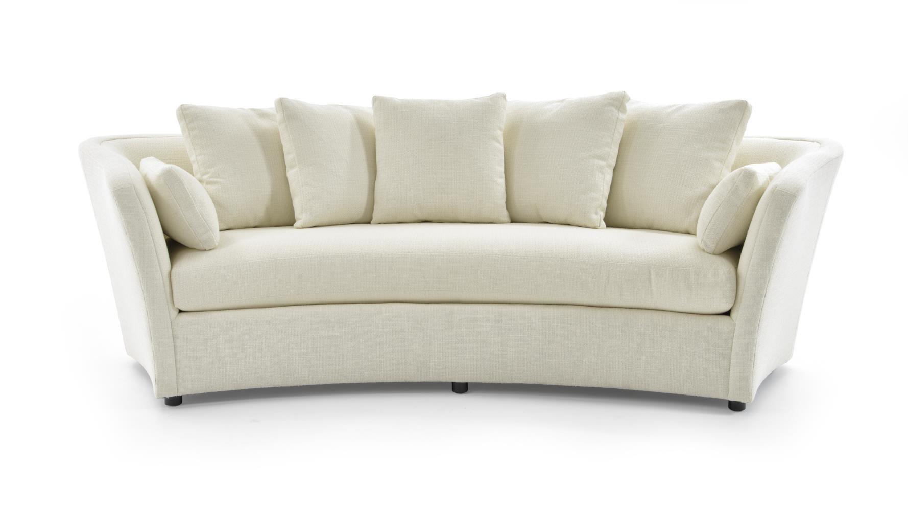 Century Studio Essentials Upholstery Arched Sofa ... ZOKGMXW