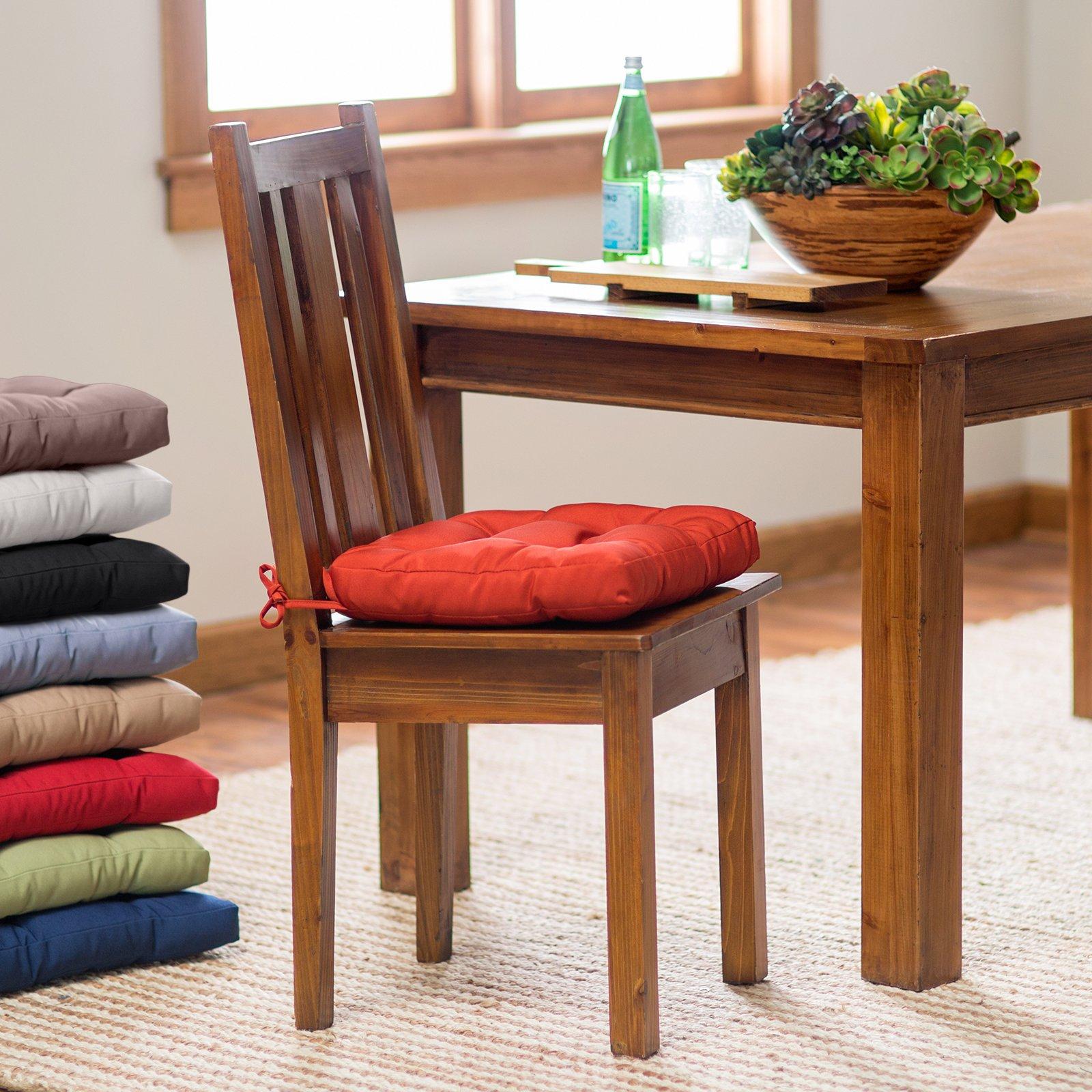 Chair cushions tufted kitchen chair cushions |  Hayneedle BQJMJFR