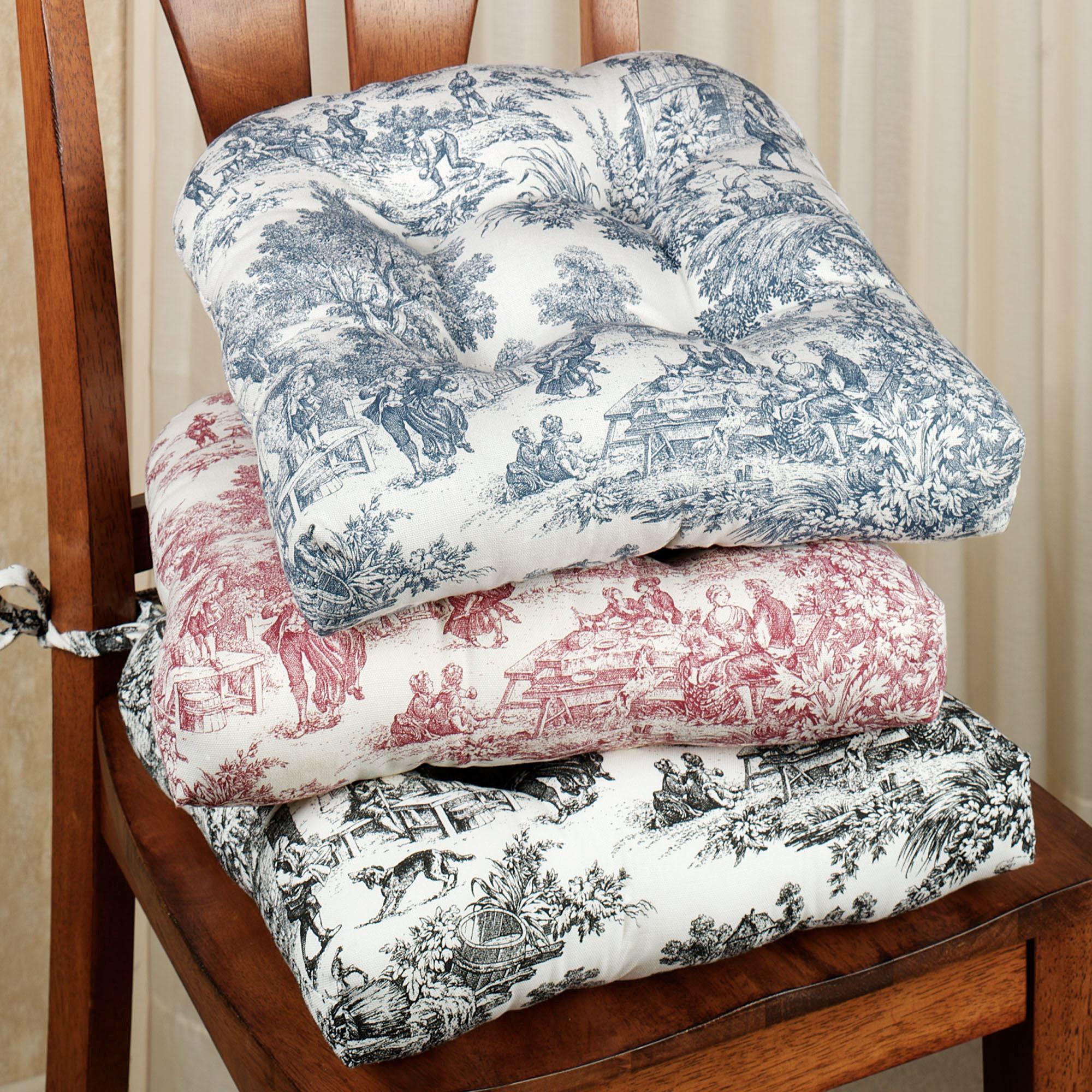 Chair cushion Victoria Park chair cushion 15x14.  touch TMWEHQN to zoom