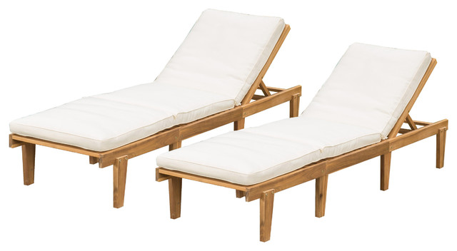 Outdoor chaise longue Paolo Outdoor chaise longues, set of 2 INTWZZC