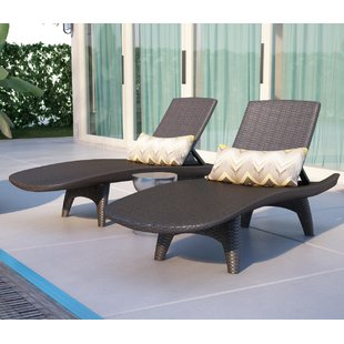 Outdoor chaise longue store VBTISQN