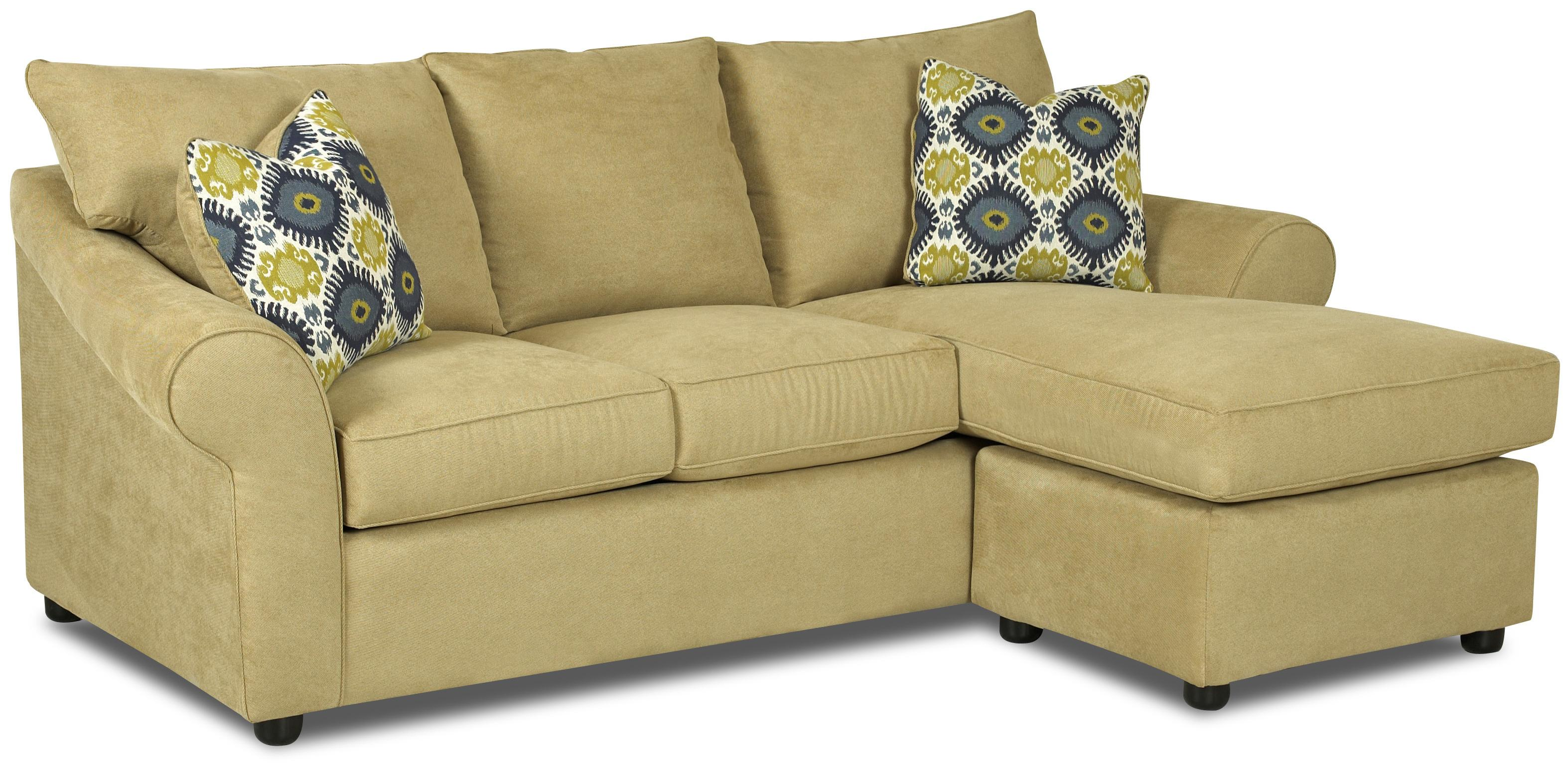 chaise lounge sofa klaussner folio sofa chaise - item number: e34300 s + b otch ZLSNPRW