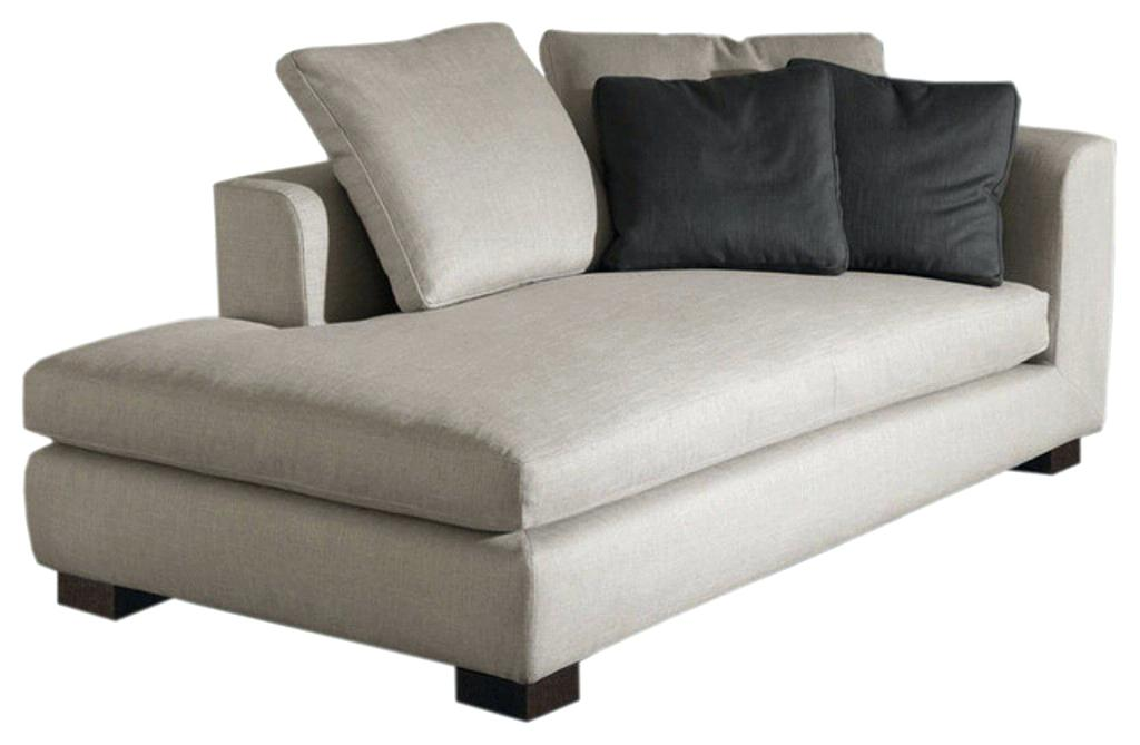 Chaise longue sofa Sleeper sofa with chaise longue Picture of the modern lounge couch humanmade in the design TDNUUAS