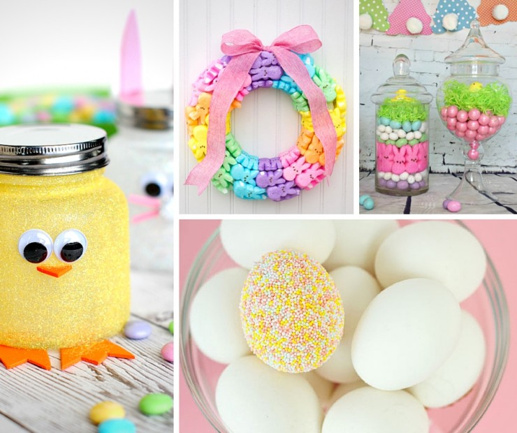 Check out these 35+ beautiful Easter decorations for inspiration at ZUOCGHL