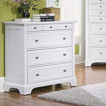 Chests of Drawers Home Styles 5530-41 Naples Chest of drawers with four drawers, white finish GULOWFL